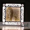 Laser Cut Wood Photoframe