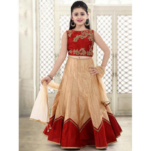d03584a6c Georgette Kids Party Wear Lehenga Choli