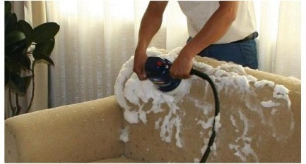 Car Seats And Sofa Cleaning Machine With Scrubbing System
