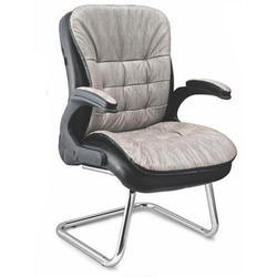 Sps-260 Medium Back Workstation Leather Chair