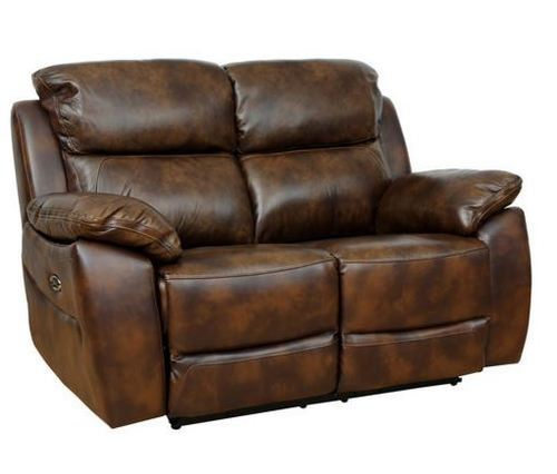 Two Seater Motorized Half Leather