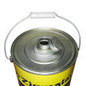Silver 500 Ml, 1 And 5 Lt Integrated Top Tin Container