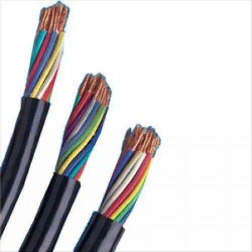 Polycab PVC Multi Core Flexible Cable, Size: 1-1.5 mm