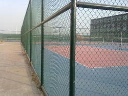 PVC Coated Tennis Court Chain Link Fencing