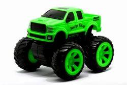 Plastic Toy Car Model For Kids (Gift) Toys Monstor Truck Monster Truck Green, No. Of Wheel: 4