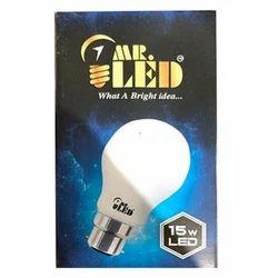 Mr. LED Ceramic 15W Electric LED Bulb, 15 W
