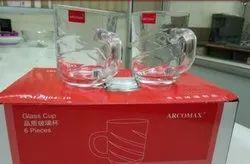 Transparent Glass Arcomax Tea Mug - Amzb04-10