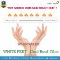 Cool Roof Tiles White Feet