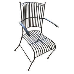 outmat black mild steel cafe chair rs 1500 piece outmat street
