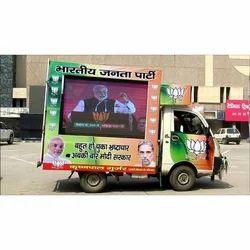 Election Campaign LED Van Service