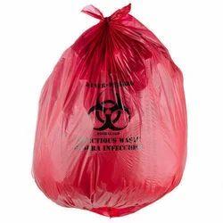 Plastic Printed Medical Waste Bag