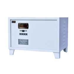 Steel Single Phase Servo Controlled Voltage Stabilizer, Automation Grade: Automatic, 170v To 270v Ac