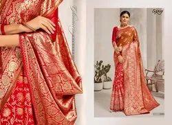 Designer Ethnic Party Silk Saree