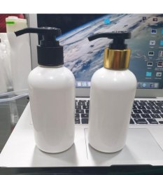200 ml Round Plastic Bottle With Lotion Pump
