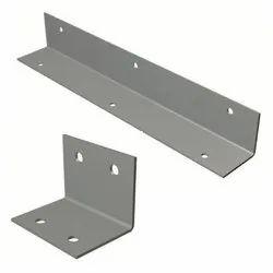 L Shape Silver Angle Bracket, For Elevator