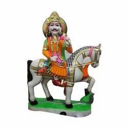 Marble Devnarayan Statue