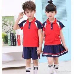 Summer Cotton Kids school uniform, For Buissness, Small