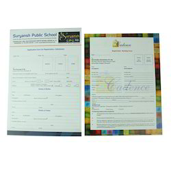Application Forms Printing Service