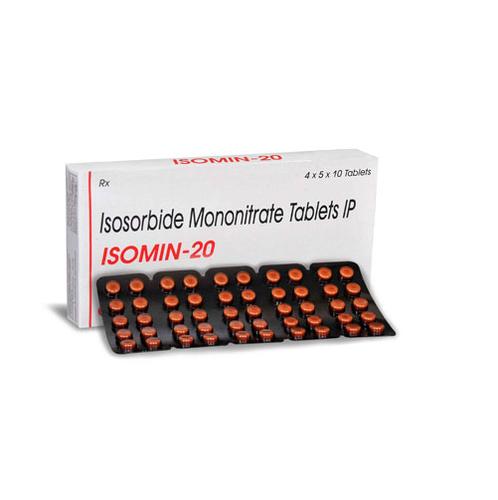 Isomin Isosorbide-5-Mononitrate Isosorbide Mononitrate Tablets, Cipla Ltd., Packaging Size: 1X10