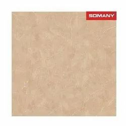 Brown Polished Somany Ardor Earth Floor Tile, For Home, Size: 1000x1000mm