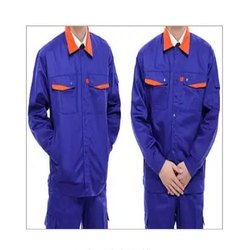 Cotton Full Sleeves Industrial Uniforms