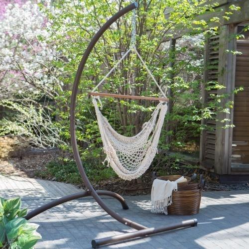 Colored Rope Swing Chair   Single Person Use