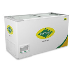 WHF525G Glass Top Deep Freezer