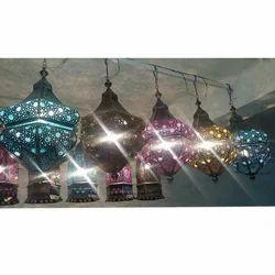 LED Handmade Iron Hanging Lamps
