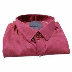 Mens Cotton Casual Plain Shirts, Size: M-XXL
