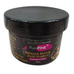 250ml PurePink Damage Repair Hair Masque, Paste