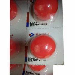 Bajaj Round Color LED Bulb, Base Type: E27