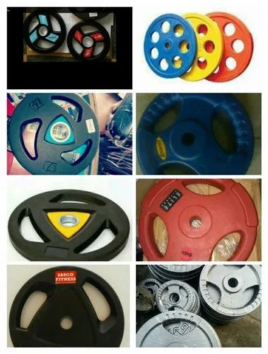 Gym Plates - 10 Kg MS Weight Plate Manufacturer from Meerut