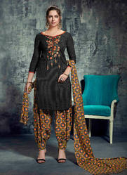 Pashmina Printed Patiala Suits Collection