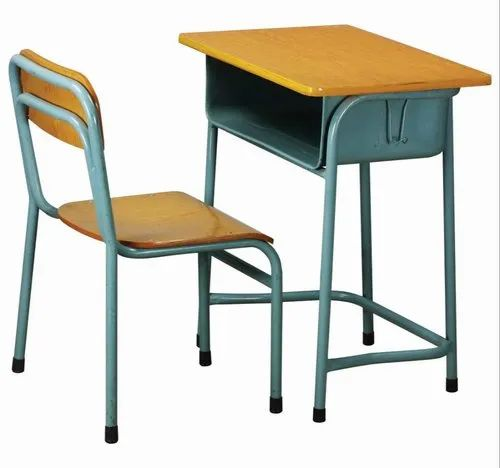 Yaksh The Art People Rectangular School Table and Chair Set Premium Range