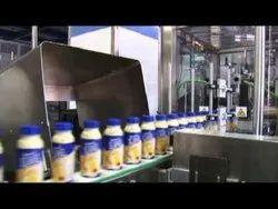Automatic Butter Milk Filling Machine