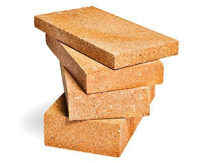 Heat Resistant And Water Resistant Rectangular Ladrillos Refractarios Brick, Size: 230x114x75 Mm