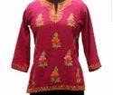Kashmiri Embroidery Aari Work Tops