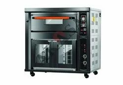 Gas Oven Single Deck Two Tray With Proofer