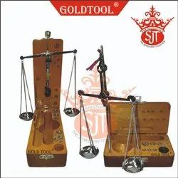 Gold Tool Diamond Scale With Stand
