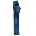 Rioclro Plain Mens Denim Regular Fit Faded Jeans