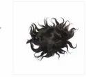 7x5 Inch Hair Toupee And Human Hair Black