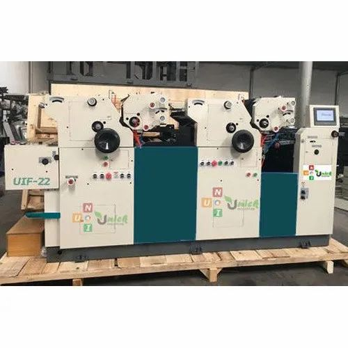 Unick Industries Heavy Duty Multicolor Bag Printing Machine