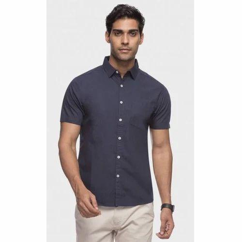 e5a607776 Cotton Blend Formal Wear Mens Short Sleeve Formal Shirt, Rs 225 ...