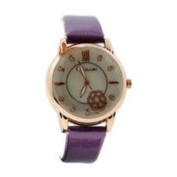 Analog Leather Ladies Fancy Watch