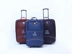 Red Blue Amaze 2 Wheel Trolley Bag