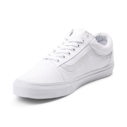 Lace-Up White Canvas Shoes, Packaging Type: Box