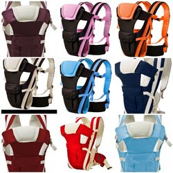 Multicolor Honeycomb Cloth Baby Carrier, Age Group: 6-18 Month
