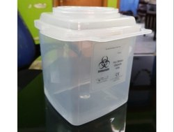 Bio Medical Safe Sharp Waste Container 800 ml For Hospitals