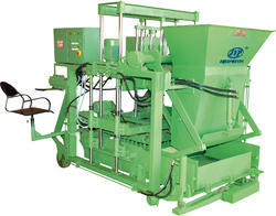 Auto Feeder Concrete Block Making Machine
