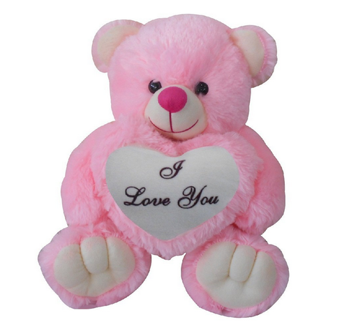 I love you teddy bear pink at rs 499 piece teddy bears id i love you teddy bear pink voltagebd Gallery